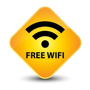 Our guests receive FREE WIFI