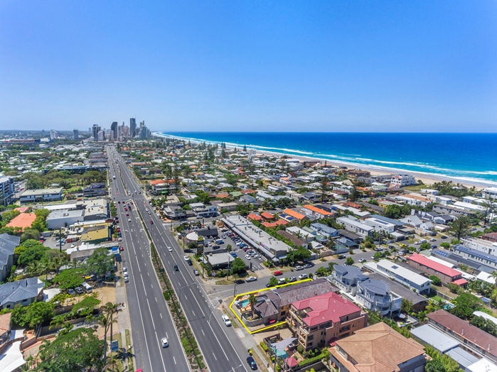Gold Coast Hwy to Surfers Paradise
